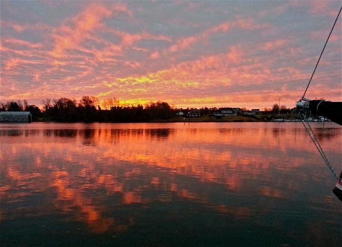 Urbanna Sunrise 12.12